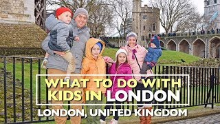 WHAT TO DO WITH KIDS IN LONDON!! Afternoon Tea, Royal Tour, London Eye | Adventure THIRTEEN