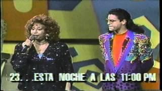 Celia Cruz & Luis Enrique presentan Chayanne el Rey del Carnaval '91 (Rosa music video)