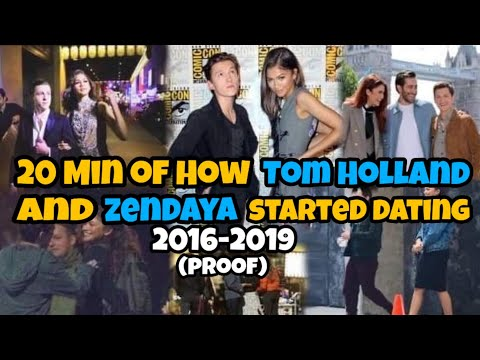 20 Min Of How Tom Holland And Zendaya Started Dating(proof)2016-2019 Is It Over Now?!