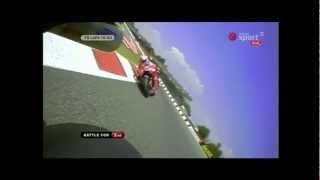 MotoGP Onboard Camera in Catalunya - Race (With Telemetry)