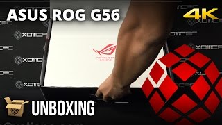 ASUS ROG G56JK-EB72 - Unboxing by XOTIC PC