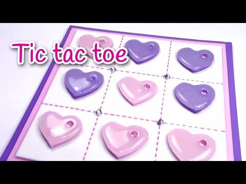 DIY crafts: Valentine's day TIC TAC TOE - Innova Crafts