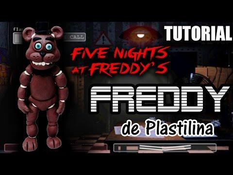 Tutorial Freddy (Five Nights at Freddy's) de Plastilina