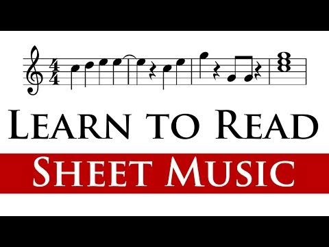 Reading Sheet Music for Beginners (4/4)