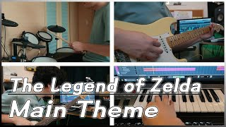 The Legend of Zelda Main Theme (All Instruments Cover)
