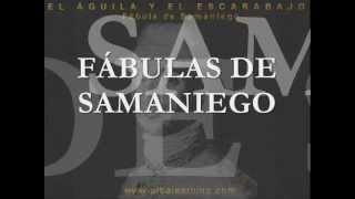 Fabula de Samaniego - El aguila y el escarabajo - AlbaLearning Audiolibros