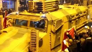 Kahramanmaraş Pazarcık'tan geçen afrin konvoyu işte böyle uğurlandı !