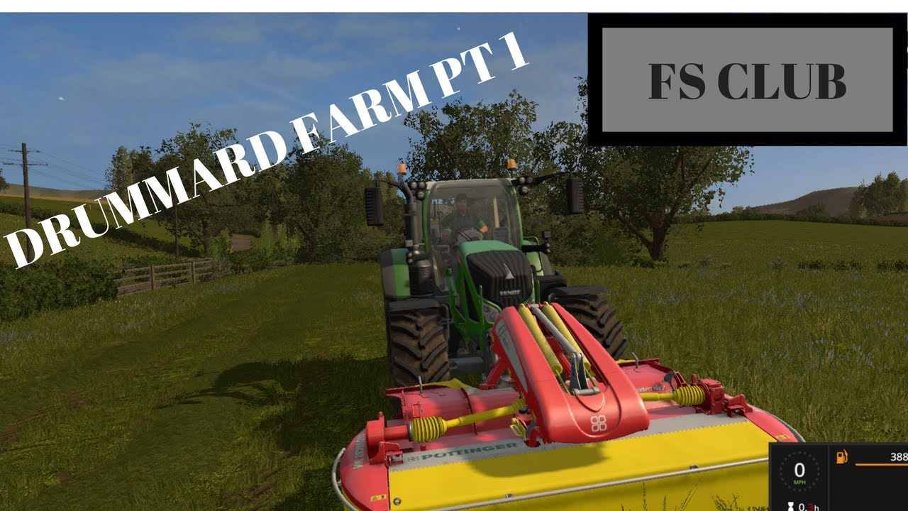Farming Simulator 17 - Drumard Farm - Episode 1 - Just Starting