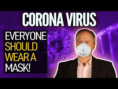 A Simple Way To Combat Coronavirus: Everyone Should Wear A Mask!