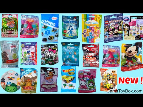 Thumbnail: 20 Blind bags Opening RARE Despicable Me 3 Disney Cars Care Bears PJ Masks Monster High Tsum Hello K