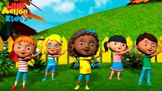 Kids Kindergarten Songs Playlist | Sing & Dance Along With Little Action Kids