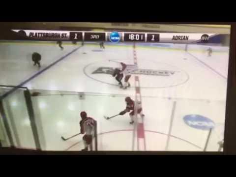 NCAA Women's Hockey - Maci Hoskins Poke-Check