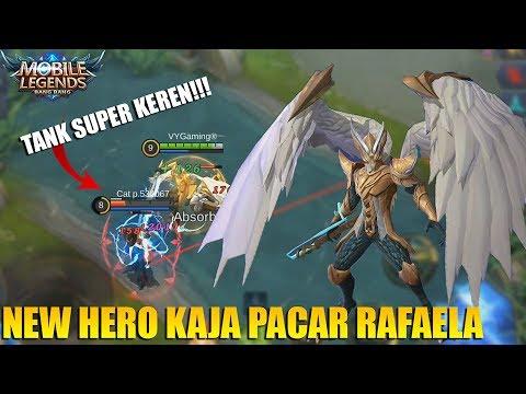 MANTAP! NEW HERO KAJA TANK/SUPPORT SUPER KEREN PASANGAN RAFAELA - MOBILE LEGENDS