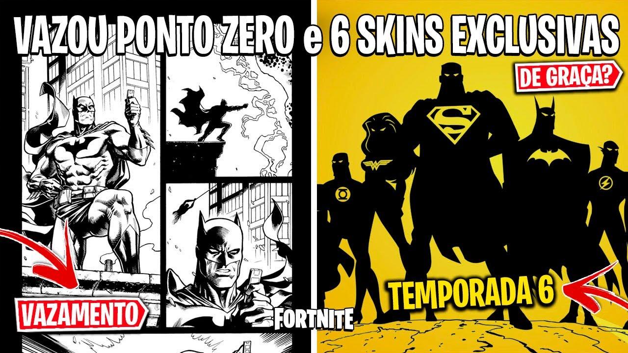 FORTNITE - SKINS TEMPORADA 6, NOVOS HERÓIS DC e CÓDIGOS DE RESGATE GRÁTIS?