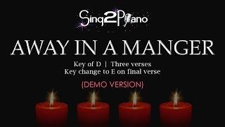 Away in a Manger (Piano karaoke demo)