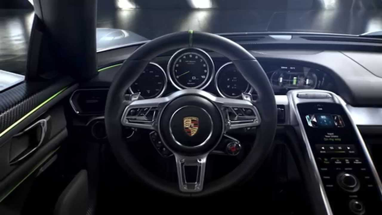 de porsche 918 spyder de cockpit youtube On porsche 918 cockpit