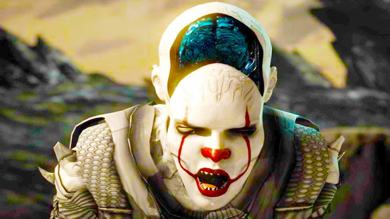 Download Mortal Kombat XL - All Fatalities & X-Rays on Pennywise D'Vorah Costume Skin Mod 4K Gameplay Mods
