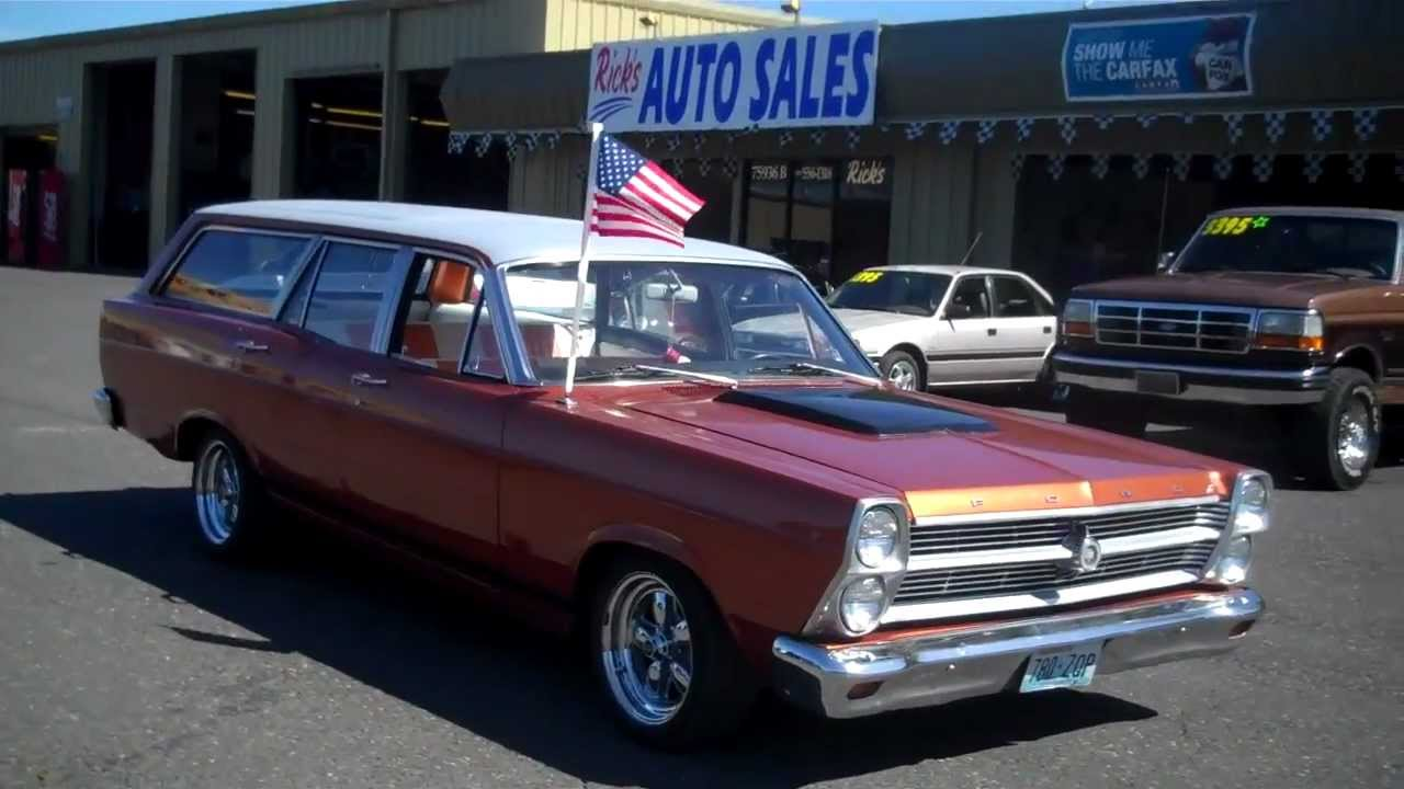 1966 ford fairlane 500 wagon sold youtube. Black Bedroom Furniture Sets. Home Design Ideas