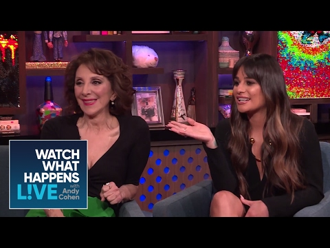 Lea Michele And Andrea Martin Recreate The #RHOBH Reunion | RHOBH | WWHL
