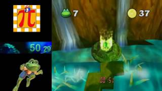 Frogger Beyond (GCN) RainForest 1 Time Attack in 53.76