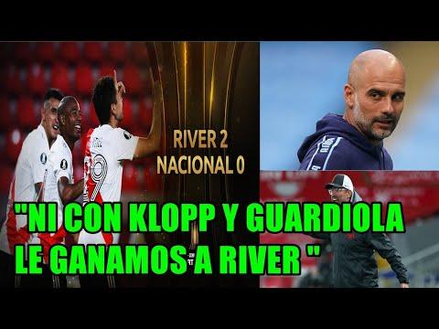 """RADIO URUGUAY FLORES A RIVER """" DE CIEN NOS GANAN 90! NI CON KLOPP NI GUARDIOLA LE GANAMOS A RIVER"""""""