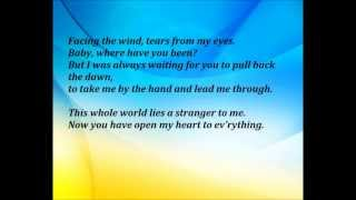 Color Me Bad - The Earth The Sun The Rain Lyrics
