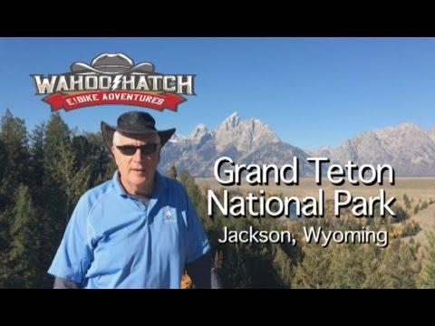 Jackson Wyoming To Tetons National Park Bike Path