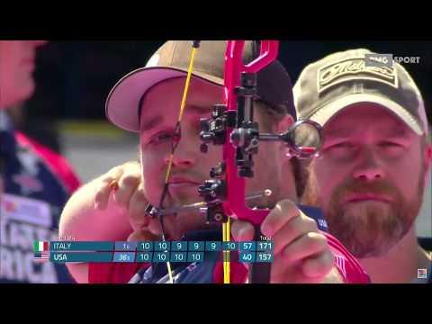 Mexico City 2017 - Archery World Championships: Italia vs USA
