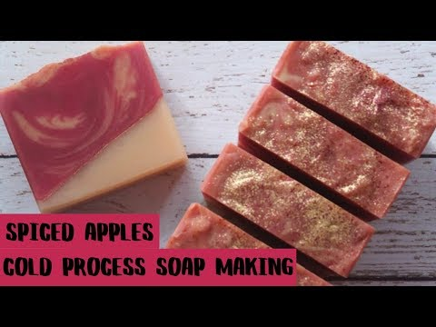 Spiced Apples // Cold Process Soap Making