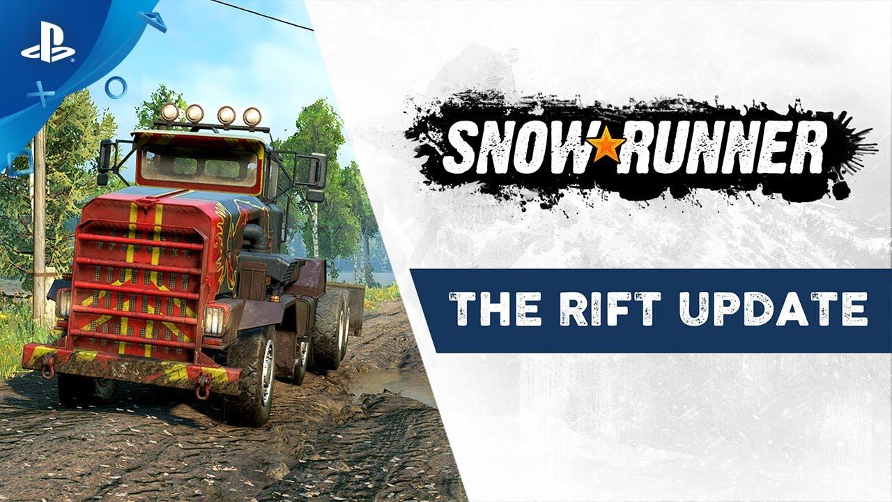 Snowrunner The Rift Update Ps4 Youtube