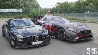 My Craziest Nurburgring Ride EVER! Insane RENNtech AMG GT3 Lap