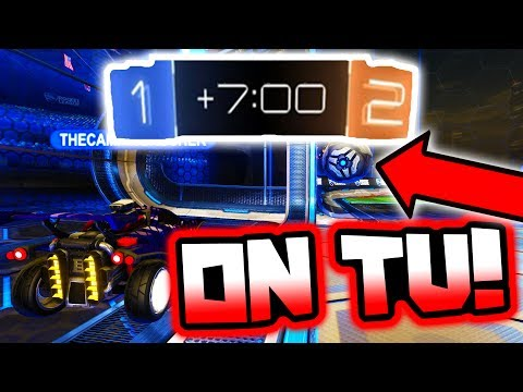 World RECORD Longest OT vs Pros - Playing on Live TV!! ( Rocket League Tournament )