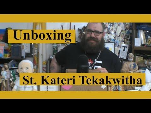 Catholic T-Shirt Club Unboxing: St. Kateri Tekakwitha
