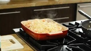 Greek Baked Shrimp With Orzo  Feta Recipe : Greek Cooking
