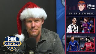 U.S. soccer culture, Ronaldo vs. Messi, UCL | EPISODE 44 | ALEXI LALAS' STATE OF THE UNION PODCAST Video