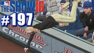 FAN LEVITATES FOR FOUL BALL! | MLB The Show 16 | Road to the Show #197
