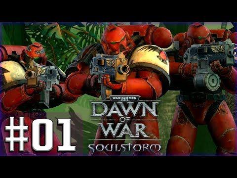 Прохождение Warhammer 40,000 Soulstorm [Часть 1] Прибытие в систему Каурава