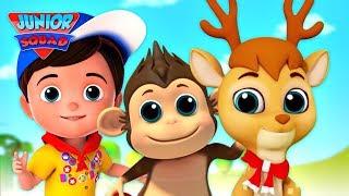 Animal Habitat | Christmas Songs For Kids | Xmas Song For Babies