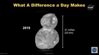 Behold! First Ultima Thule Close-Ups from New Horizons Revealed