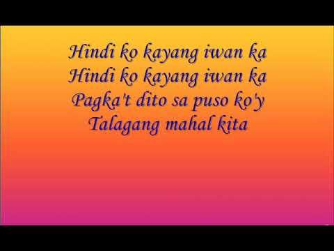 Hindi Ko Kayang Iwan Ka by Hannah Precillas