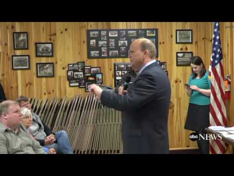 Republican Rep  Tom Reed Holds Town Hall in Jamestown, New York