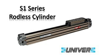 Univer S1 Series Rodless Cylinders