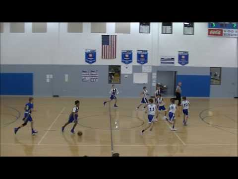 01/18/2018 HMS Bluebirds vs Summit View Academy Royals, 7th Grade Basketball