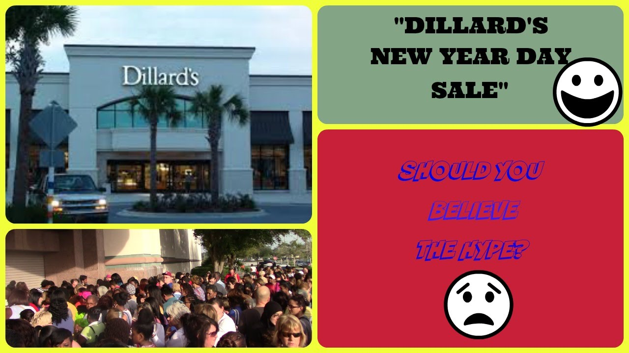 DILLARD'S NEW YEAR DAY SALE - IS IT WORTH IT? ( VLOG ...