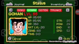 Dragon Ball Buu's Fury cheat for Kaioshin Gohan