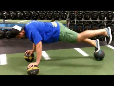 Progressive Medicine-ball Chest Exercises at our San Diego personal training Facility