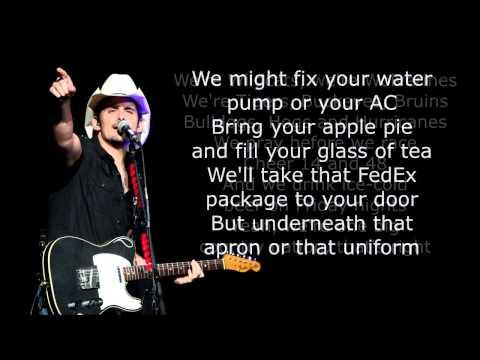 Brad Paisley  Country Nation  Lyrics