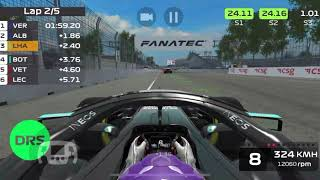 F1 Mobile Racing 2020 - QUALIFIED FOR THE ESPORTS EVENT (Mexico challenge completed on the 1-st try)