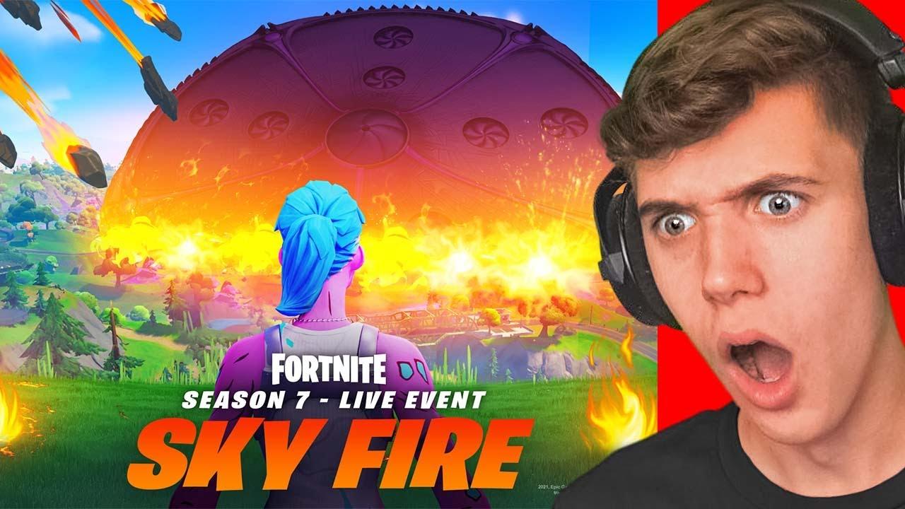 *FULL* FORTNITE SKYFIRE LIVE EVENT! (Fortnite Season 8)