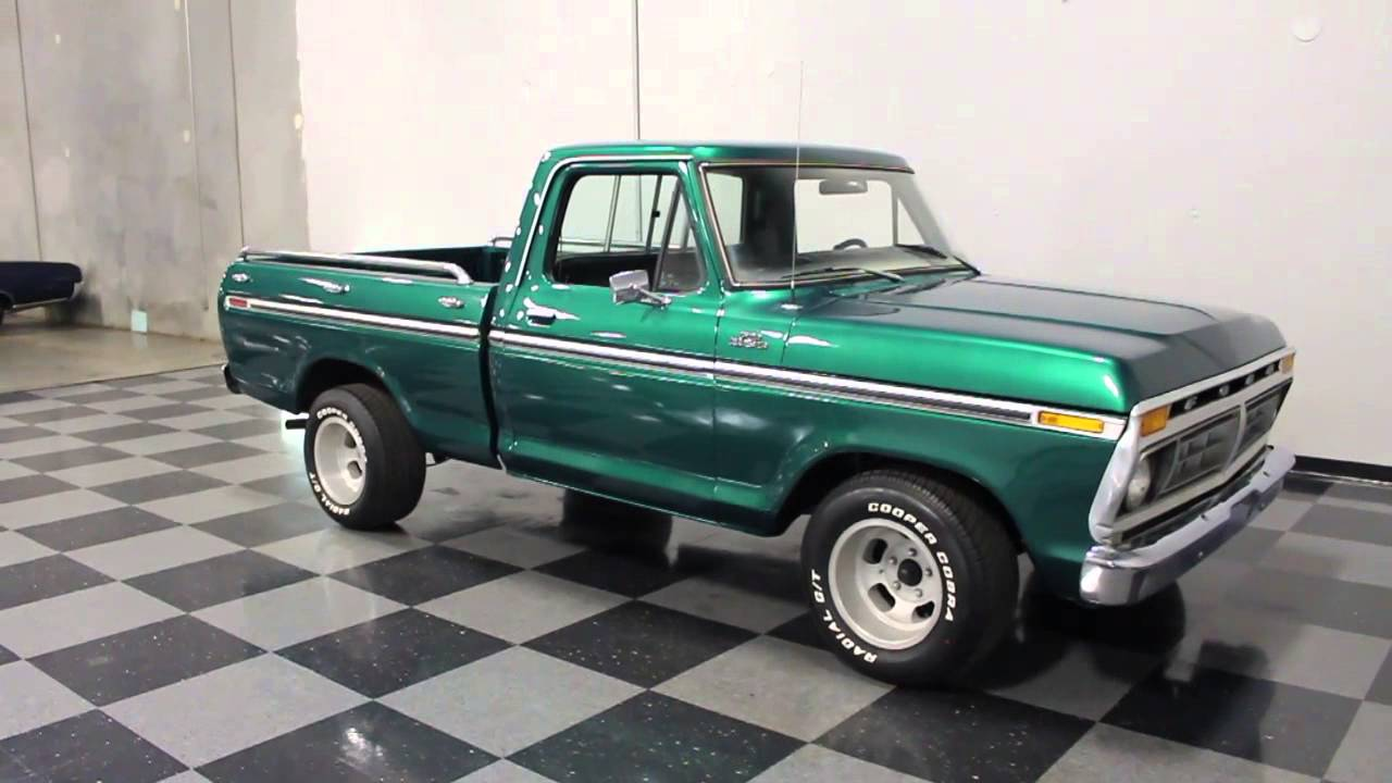 1977 Ford F100 Explorer Edition - YouTube